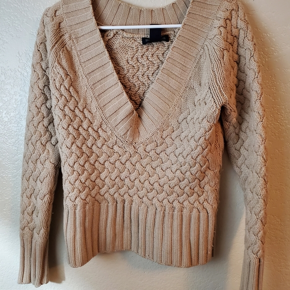 Banana Republic Merino Wool Cable Knit Sweater